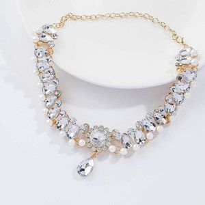 Necklace Pearl Choker Wedding Jewelry Bridal